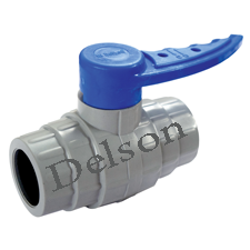 PVC Solid Ball Valve
